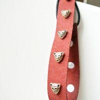 Wholesale 2014 New Fashion Metal Small Leopard Hair Decoration Headband HB3034