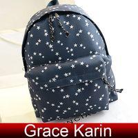 Wholesale GK Korean Men Women Unisex Canvas Backpack Shoulders Bag Rucksack Satchel BG723
