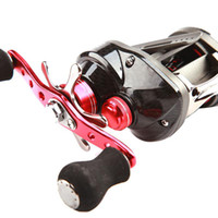 Wholesale S5Q BB Right Hand Handle Baitcasting Casting Fishing Reel High Speed Red AAADBC
