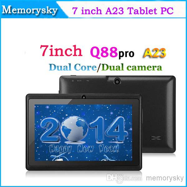 Screen Tablet PC capacitifs pas cher 7inch Allwinner A23 Dual core Tablet Q88 do