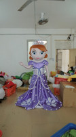 Mascot Costumes Unisex Costum Made with one mini fan inside the head WR210 Hot selling adult princess sophia costume sofia mascot costume for adult to wear