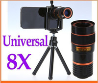 best low price camera - 8X Zoom Universal Telescope Long Focal Camera Lens for iPhonewith Mini Tripod Holder Best lower prices Hot sale