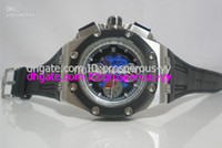 Sport Men's Auto Date Hot Sale luxury Mens Royal Oak Offshore Swiss Quartz Steel Working Chrono Leather Sport Watch Men's Watches