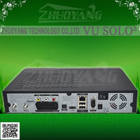 DVB-S receiver Yes Brand new 2014 vu solo 2 Vu+ solo2 twin tuner decoder vu solo2 Linux reciever 1300 MHz CPU 2 dvb-s2 tuner STB digital satellite tv recever