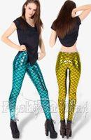 Foot Cover Women Leggings New 2014 Mermaid leggings for women Chic Sexy Fish Scale Mermaid Printed Legging stretch pants Pants Skinny