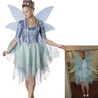 TV & Movie Costumes Unisex People Tooth Fairy tale Woodland Fairy Elite Collection Adult mascot costumes party fancy halloween dress free shipping