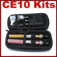 Two CE10 Kit Electronic Cigarette Kits Two CE10 E- cigarette ...