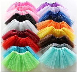 Wholesale Faster shippingTutu New arrival girls skirt dress kids baby bubble skirt girl tutu skirts children pettiskirt clothes