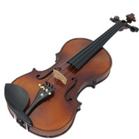 Wholesale Violin High quality brown color violin musical instruments handmade violin