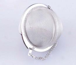 EMS Free shipping Stainless Steel Tea Pot Infuser Ball Sphere Strainer Mesh Ball Tea Colanders K07604
