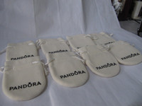 Wholesale Pandora Jewelry Pouches Original Pandora Jewelry Packaging Bags Pandora Bracelets Pouches