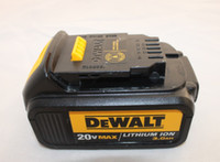 DCB200 dewalt - Used Dewalt DCB power tool lithium ion battery V mA rechargeable