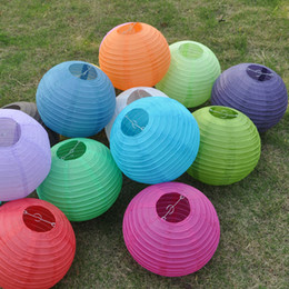 10 Pcs 16 inch Chinese Paper Lanterns Lamps for WEDDING BIRTHDAY Party DECORATIONS 40cm Lantern