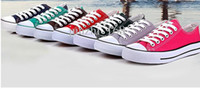 Lace-Up Unisex  shoes Free shipping Unisex canvas shoes Low-Top & High Sport Shoes High quality canvas shoes