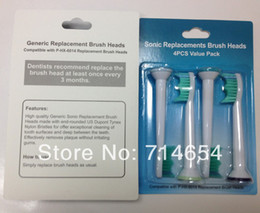 Wholesale P HX New metal ring design electric toothbrush heads Sonic replacements brush heads pack