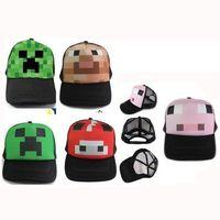 Wholesale Minecraft Hat Minecraft cap Creeper hat Good Quality in stock