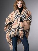 Wholesale cm Fashion women plaid scarf plain beach cape tassel big size Cashmere scarves