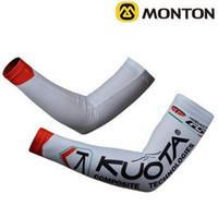 Arm Warmers arm spandex - 2011 KUOTA TEMA WHITE Cycling ARM Warmers Sleeve Spandex Coolmax Lycra UV Protection Size S XXL C06