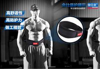 Wholesale Top qulity NYLON fitness weight lifting belt waist supporter male girl lifting straps belt weight lifting wrist strapsequipment