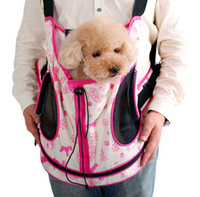 Wholesale dog backpack pet carriers small dog comfort multifunctional shopping