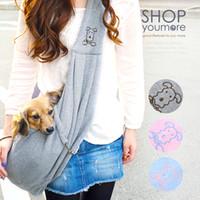 Wholesale Pet bag Dog Carrier cotton kangaroo soft sling