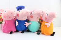 Free shipping 8pcs set Peppa pig Plush Doll Toy Peppa teddy ...