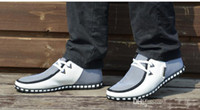 Slip-On MEN SNEAKER - Hot Fashion spring men sneakers breathable canvas shoes fashion men shoes casual shoes ultra light sport shoes