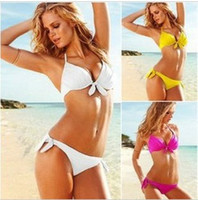 Wholesale new brand swimsuit VS brand discount bikini push up swimwear beachwear sexy bathing suits for women Russia