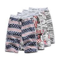 Men swimwear uk - Men s USA American Flag UK flag Stars Stripes Board Swim Shorts Beach Trunks swimwear