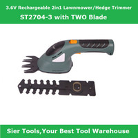 Wholesale ST2704 MOWER VLawnmower Rechargeable Hedge trimmer in1 Electric Mower Mower with two blade