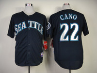 Baseball robinson - Mariners Robinson Cano Dark Baseball Jerseys New Baseball Shirts Seattle Sports Team Jerseys High Quality Embroidered Sport Clothe