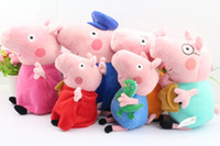 Free Shipping 12pcs set friends Peppa pig Plush Doll Toy Pep...