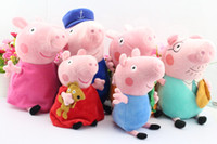 Free Shipping EMS 60pcs set friends Peppa pig Plush Doll Toy...