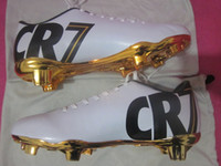Wholesale Top Quality Firm Ground CR7 Cristiano Ronaldo Special Edition SE ACC All Conditions Control soccer cleats football boots football shoes FG