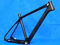mountain bikes - FR Full Carbon k Matt Matte Mountain Bike Frame er BSA MTB Bicycle frame
