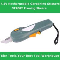 Wholesale ST1002 electric scissors electric graden scissors cordless branches shears grass cutter