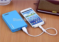 Universal Power Bank Emergency / Portable Brand New Universal Mobile Phone Power Bank 12000mAh External Battery Pack With Retail Package 100pcs Fedex Free Shipping