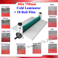 Wholesale NEW Heavy All Metal Frame quot MM Manual Laminating Machine Perfect Protect Cold Laminator Rolls Film