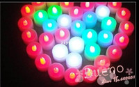 Wholesale LED electronic candle lights smokeless candle light for wedding and holiday part