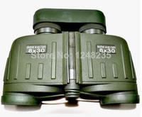 Waterproof Binoculars Rangefinder - Hunting Airsoft Military x30 Binoculars with Compass and Rangefinder Telescope Waterproof