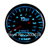 "Speedometer Professional 12V 2-12  New 2""52mm Car Exhaust Gas Temp Temperature Gauge Meter EGT (2-12) X100C+O2 Sensor Free shipping+ seven color changes"