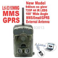 Consejo juego rastro externo antena GPRS IR de la cámara Ltl bellota 5310WMG MMS GSM caza 12MP Scouting cámara 100 grado gran angular