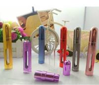 Wholesale 12ml Metal Shell Glass Inner Aluminum Nozzle Perfume Spray Bottle Travel