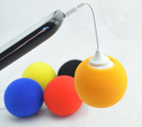 Wholesale The portable Balloon Mini stereo Plastic Mini Speaker For Samsung N7100 i9500 Apple iPhones