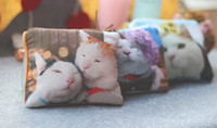 Wholesale high quality Mixed Luxury Style D Cats design Coin Purse handy Pocket Women Purse Change Purse