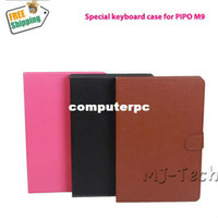 7'' For Apple For Ipad 2/3 Free Shipping Keyboard Case For pipo M9 PRO , Special Keyboard case for pipo M9 M9 PRO