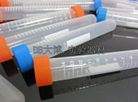 Wholesale 100pcs ml graduation around Bottom plastic centrifuge tubes centrifuge test Clear