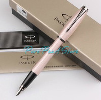 Wholesale PARKER URBAN Series Pink Color with Stripe Designs Fountain Pen