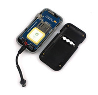 Wholesale Realtime GSM GPRS GPS Car Vehicle Tracker Quad Band Tracking Device TK110 New Q0066A DHL Free Ship