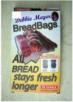 300sets Bolsas de Pan bolsos reutilizables fruta fresca de bolsas de comida BreadBags Reutilizables Debbie Meyer breadbags Alimentos Protector de pan, Bolsas de Mantenerse Frescos por Más tiempo